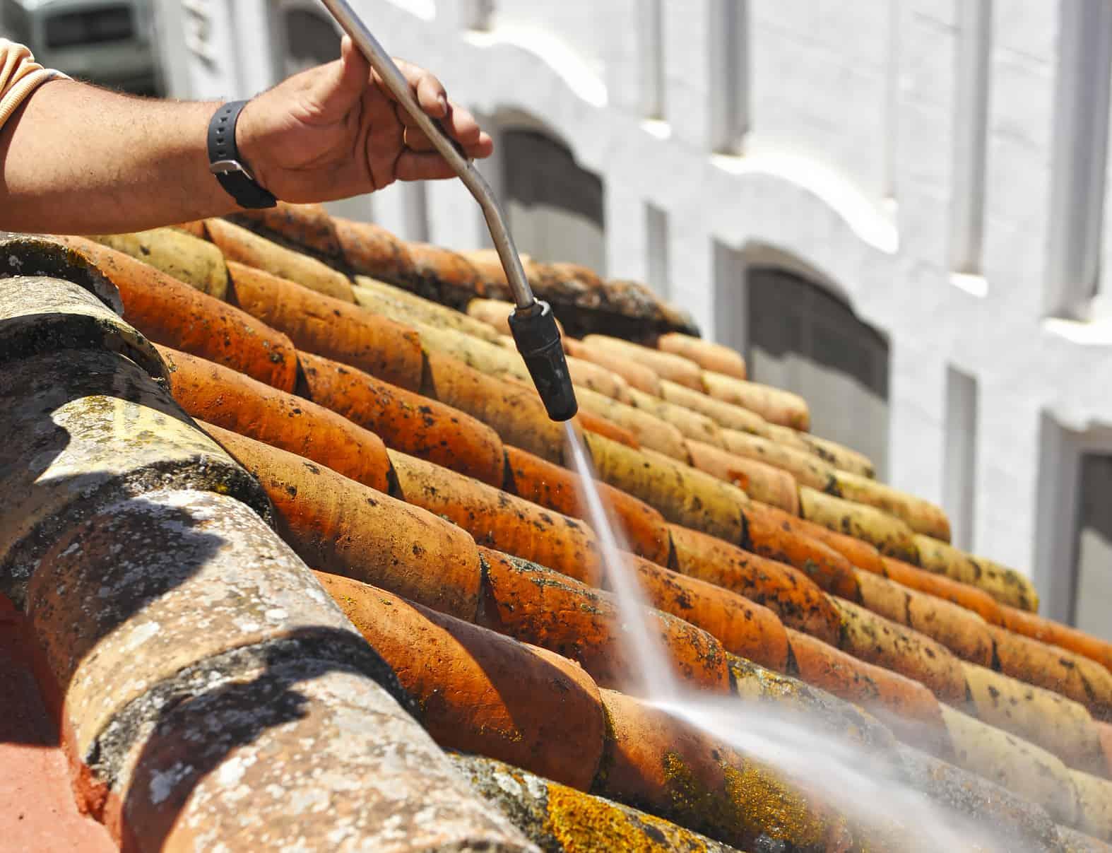 karcher nettoyage de toiture