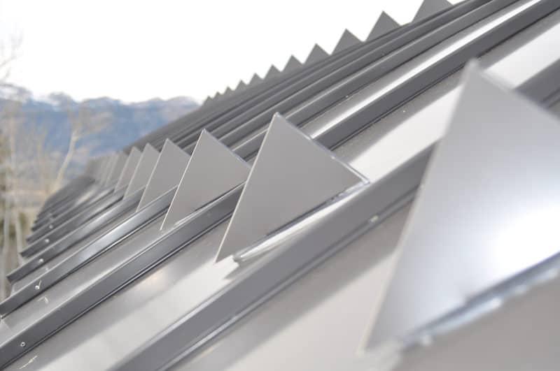 Toiture aluminium