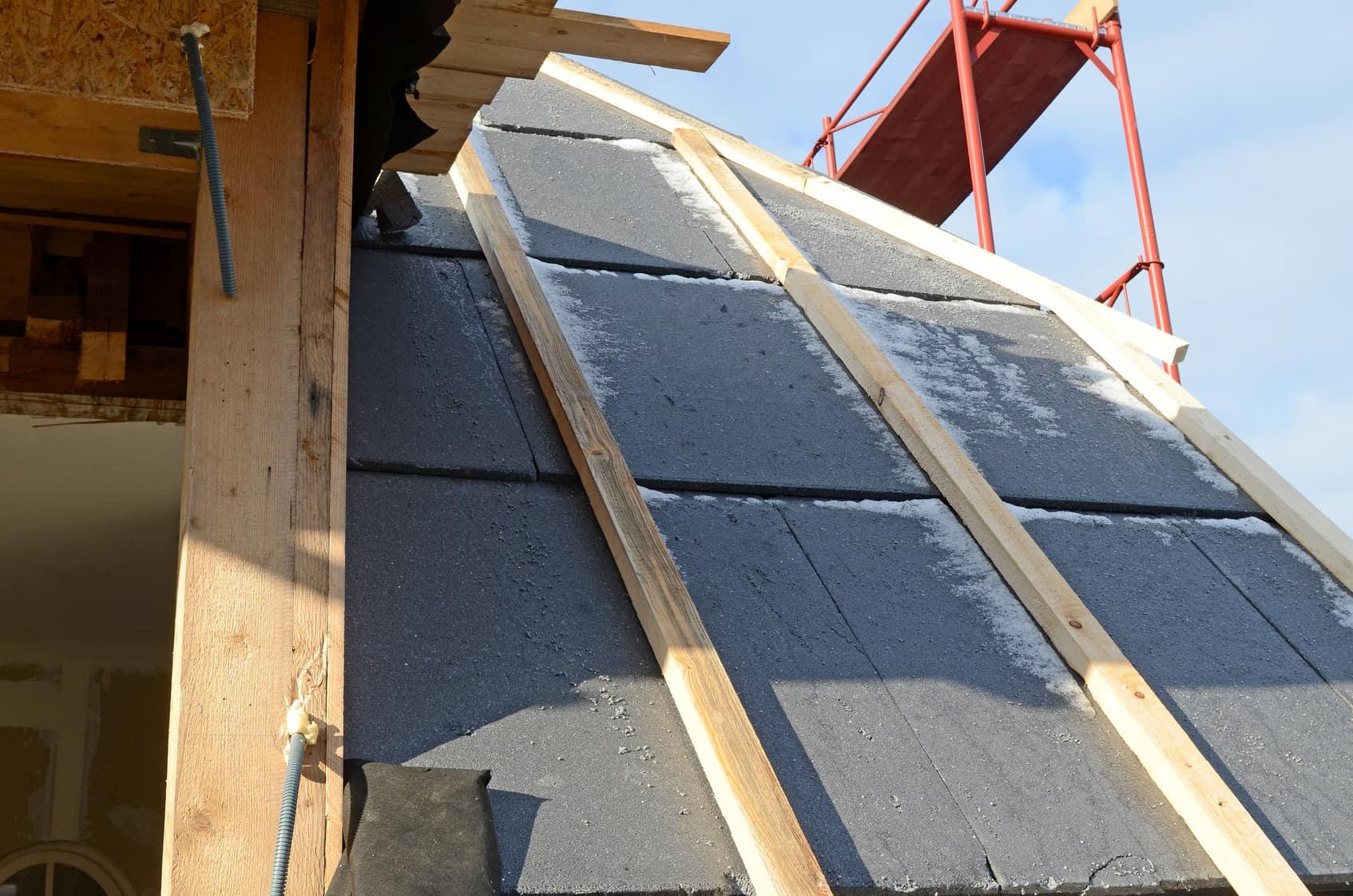 Isoler toiture extérieur