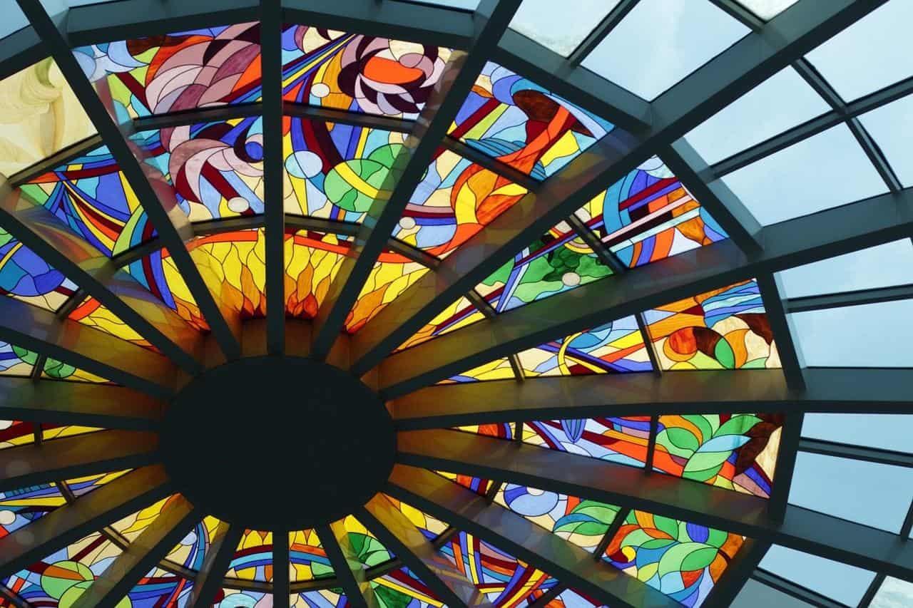 verre coloré