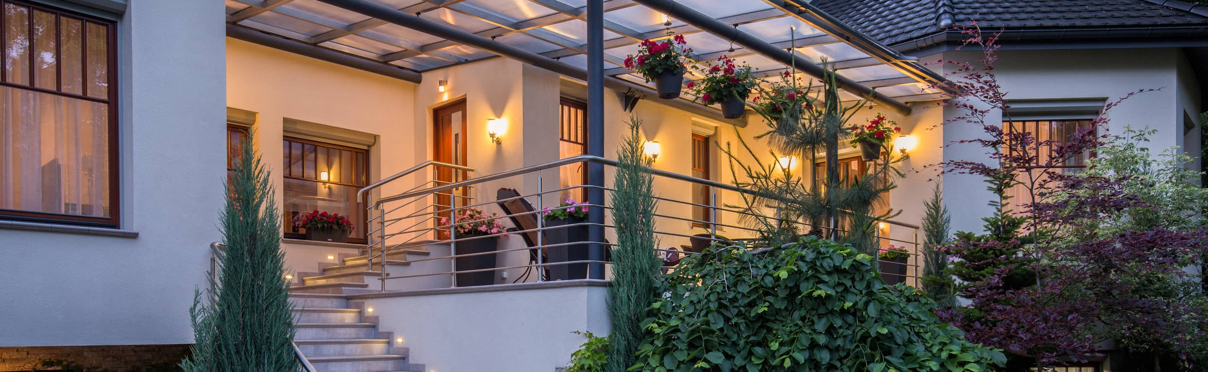 Toiture veranda