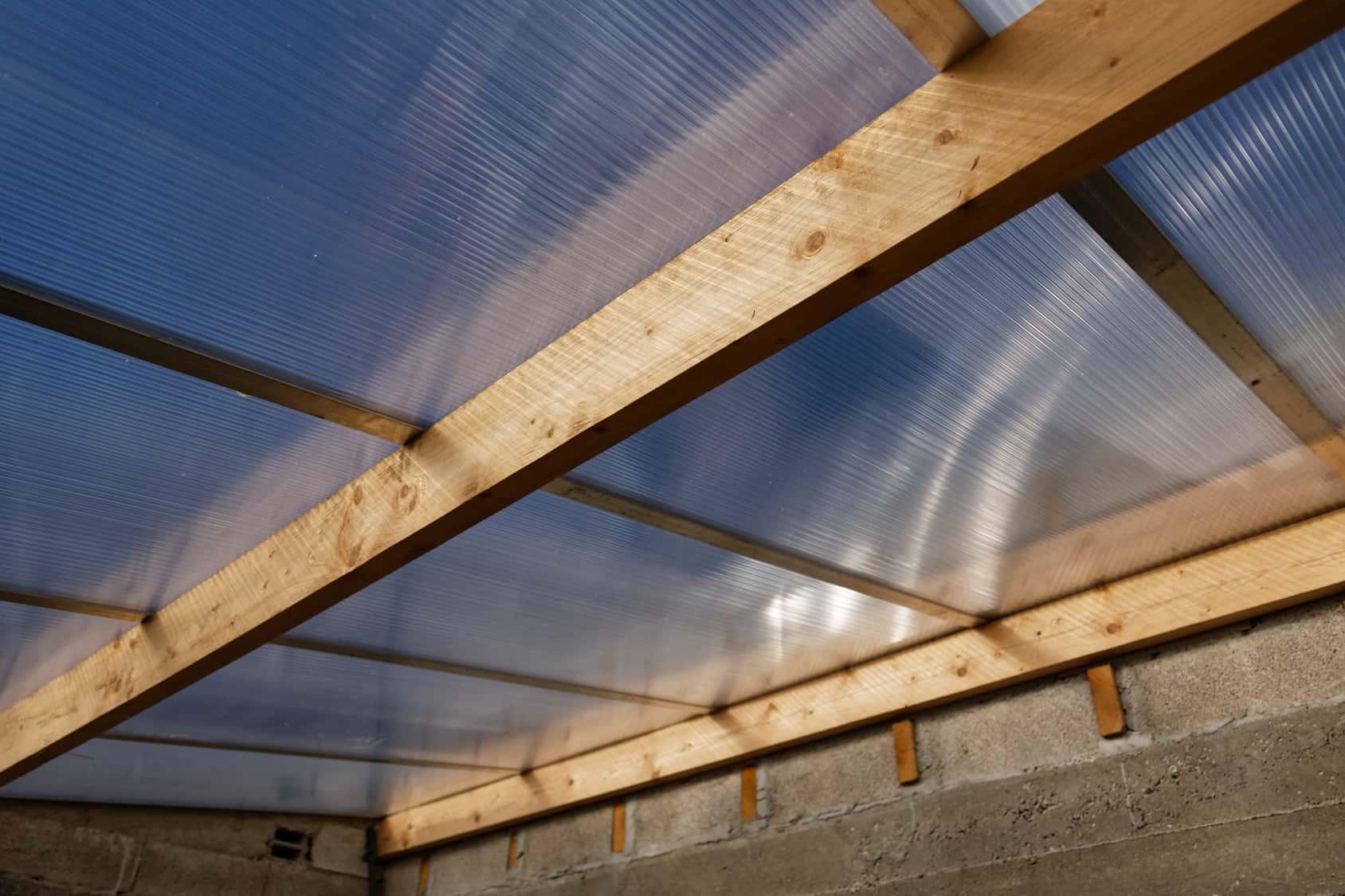 toit pour véranda en verre