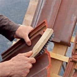 réparer tuile fendue