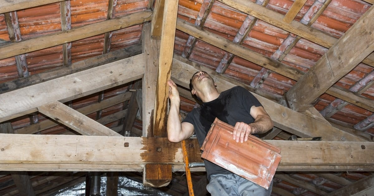 détecter fuite de toiture